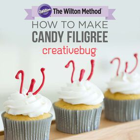 Wilton How to Make Candy Filigree by Creativebug