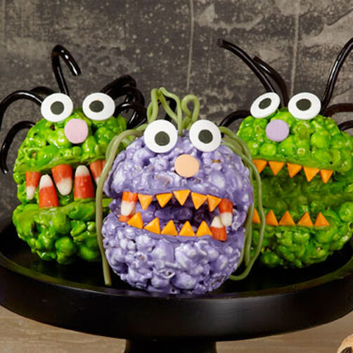 Popcorn Ball Monsters