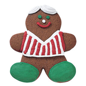 Jolly Gingerbread Boy Cookie
