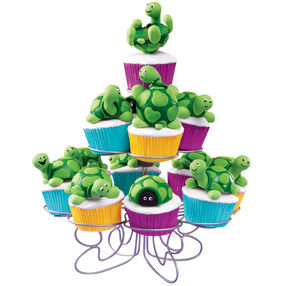 Turtle Tree Cupcakes & Cereal Treats