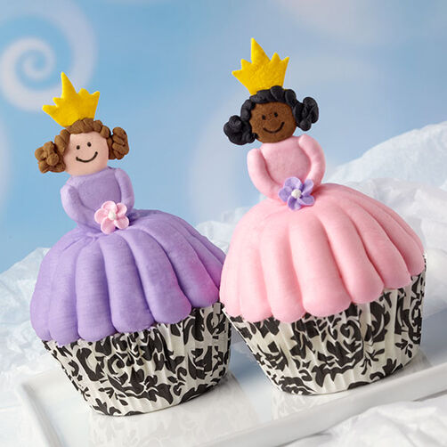 Royal Princess Cupcakes