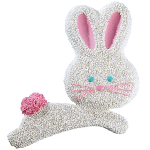 Bouncing Easter Bunny Cake