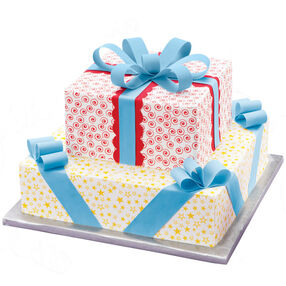 Peppy Packages Cake