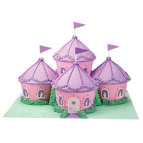 Cupcake Kingdom Castle Cake