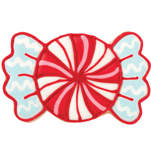 Wrapped Candy Swirl Cookie