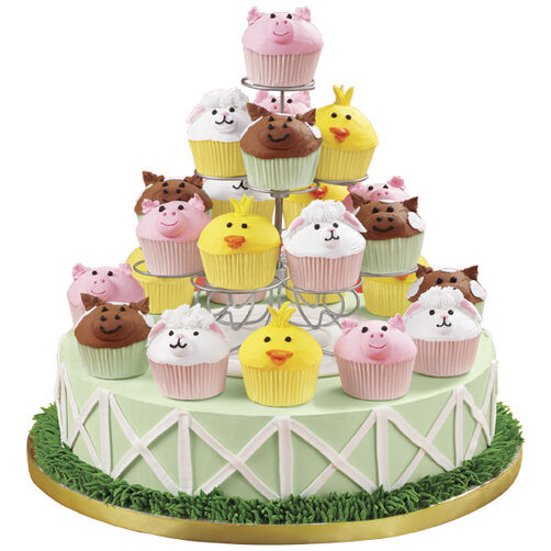 Farm-Raised Cupcakes & Cake