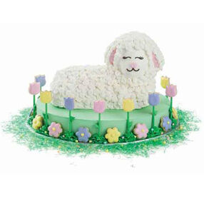 Leisurely Lamb Cake