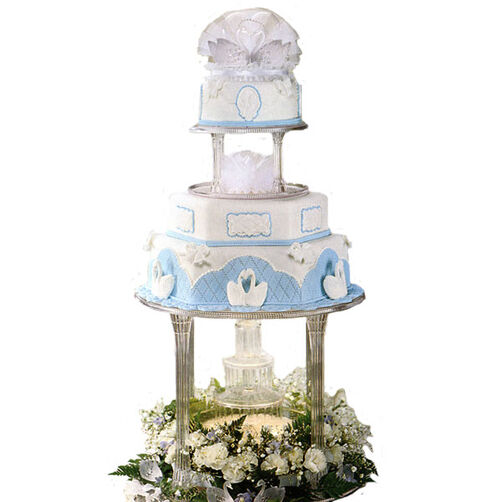Our Blue Heaven Cake
