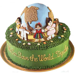 For the Good Earth's Sake Cake