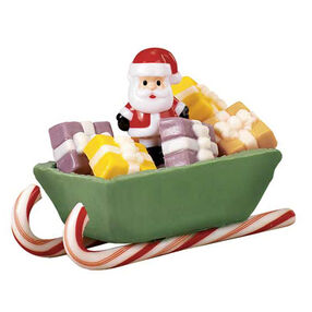 His Sleighs Away! Candy