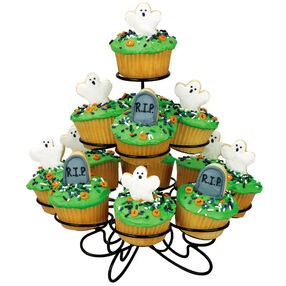 Graveyard and Ghost Cupcakes