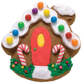 Red Door Inn Gingerbread Cookie