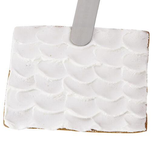 How To Ice A Scalloped Gingerbread House Roof Wilton