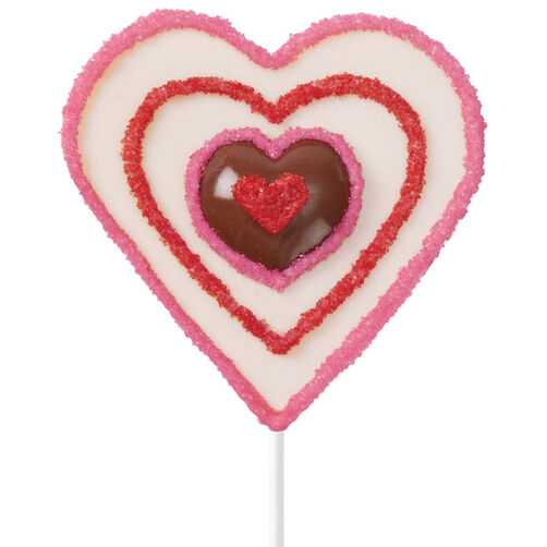 Heart in Hand Candy Pops