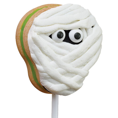 Mummy Monster Cookie Pops
