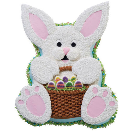 All Eggs in One Basket Cake