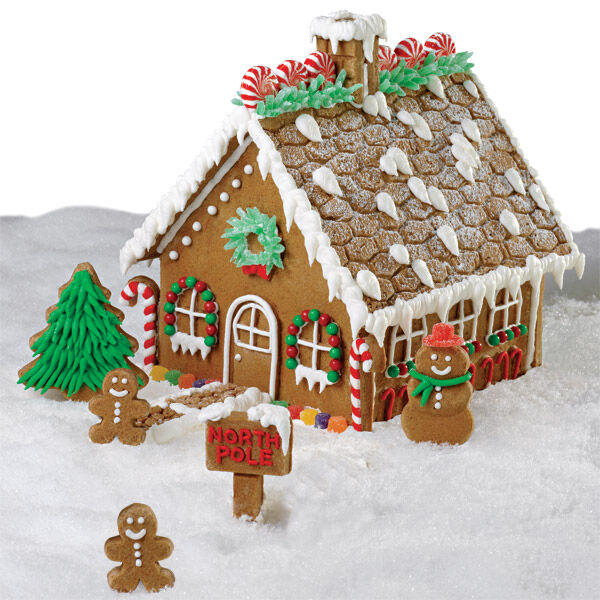 Wonderful Grand Gingerbread House | Wilton