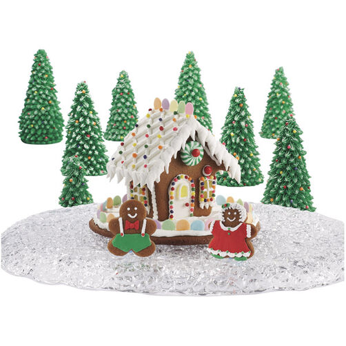 Holiday Chalet Gingerbread House