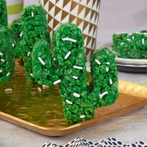 Rice Cereal Cactus Treats