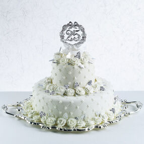 Silver Is Stunning Cake