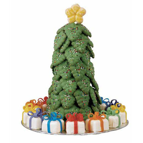Oh! What A Christmas Tree Cookies
