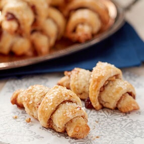Pecan and Cranberry Rugelach