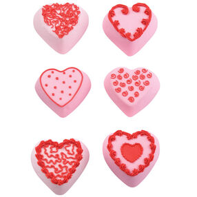 Mini Heart Fantasy Cakes