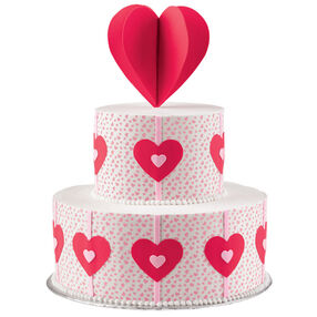 Heart-Felt Fancy Cake