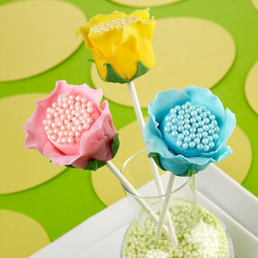Open Rose Candy Clay Marshmallow Treats