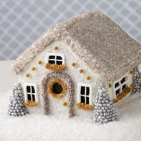 Winter Wonderland Gingerbread House
