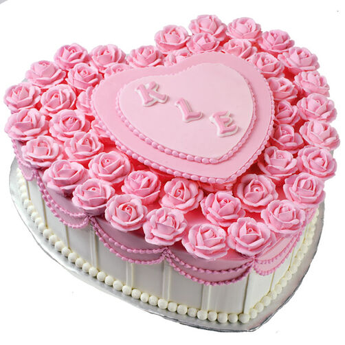 Love S A Bed Of Roses Cake Wilton
