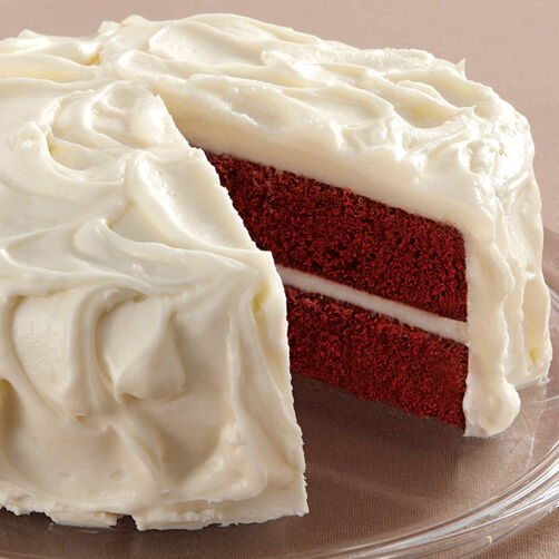 Red Velvet Cake Recipe - Red Velvet Cake with Cream Cheese Frosting