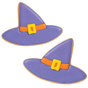 Smooth Witch Hats Cookies