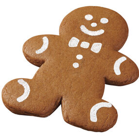 Best-Dressed Gingerbread Boy Cookies