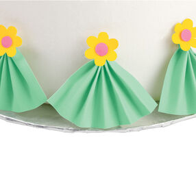 Pleated Fan with Sugar Sheets