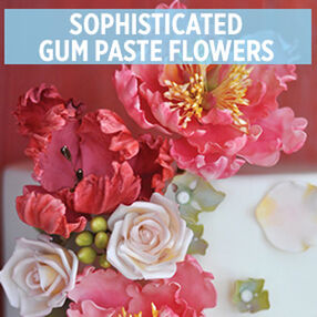 Sophisticated Gum Paste Flowers with Julie Deffense