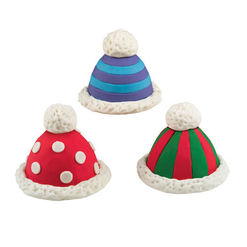Hats Off to the Holidays Mini Cakes