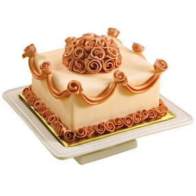 A Bronze Beauty Cake