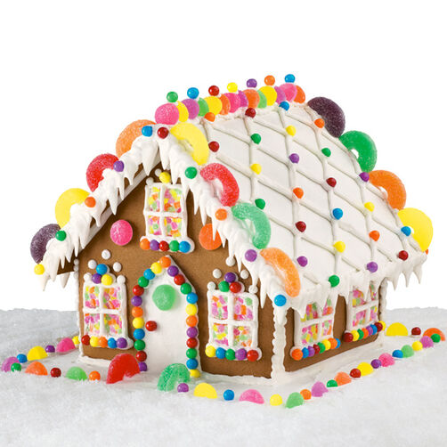 Enchanted Estate Gingerbread House