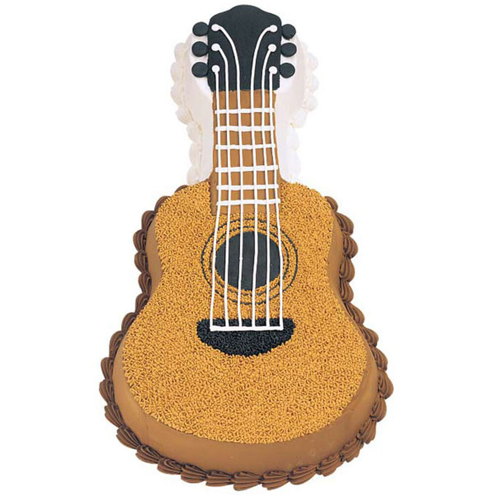 Acoustic Guitar Cake How To Make