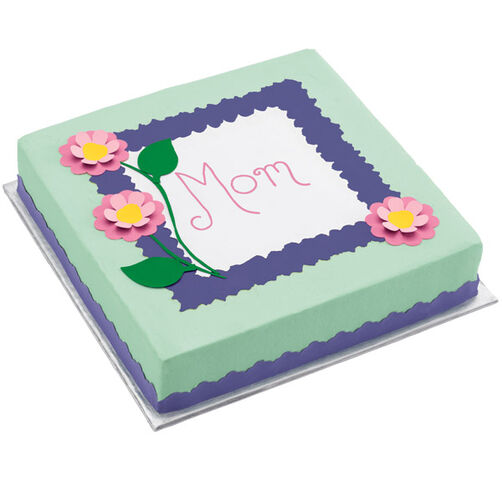 Mother's Day Pink Poppy Cake