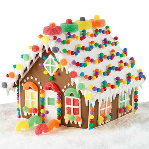 Candy Chalet Gingerbread House