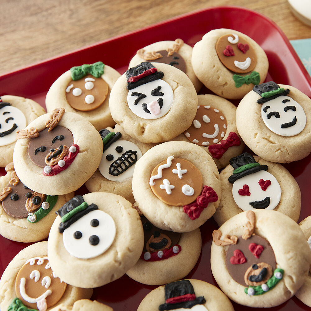 Emoji Thumbprint Cookies Wilton