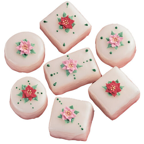 Yule Love These Petit Fours!