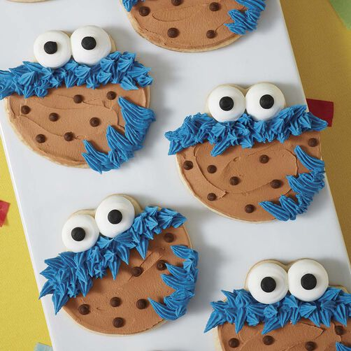 Cookie Monster's Favorite Cookie | Wilton