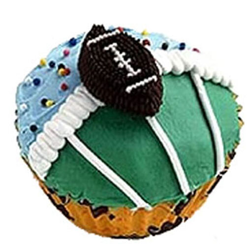 First Down Cupcakes