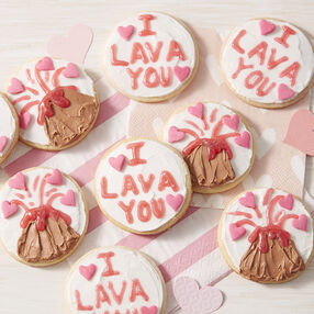I Lava You Sugar Cookies