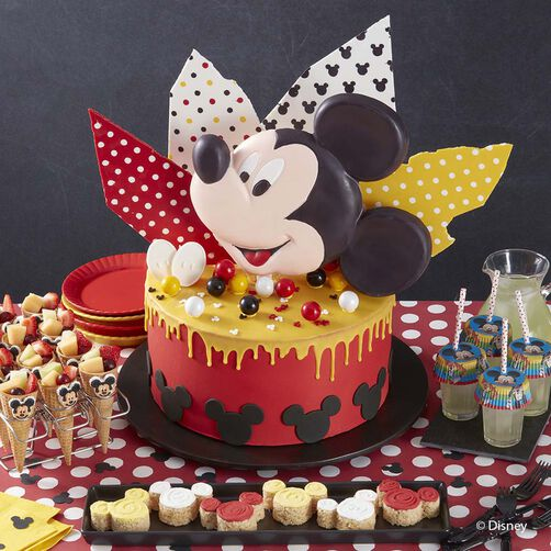 Mickey Mouse Club Cake Wilton
