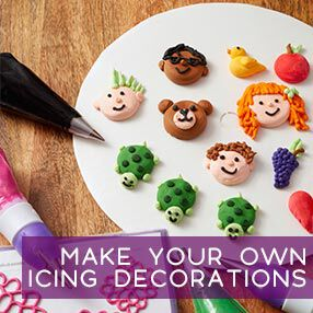 How to make your own royal icing decorations