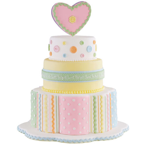 Cute As a Button! Cake
